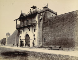 [Central Jail gate, Junagadh.]